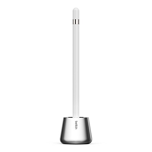 Belkin Stylus Stand and Base for Apple Pencil - Retail Packaging - - Silicone Belkin Black