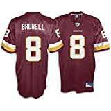 Mark Brunell Redskins Maroon NFL Replica Jersey - Men's ( sz. L, Maroon : Brunell, Mark : Redskins )