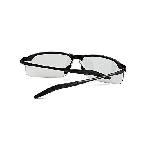 1 Conductores Hombre DT polarizadas de Color Cambio Pesca Gafas 1 Gafas Dual Use Sol Sol TD Vasos conducción para de de de Gafas Hombre OcOqHgwT