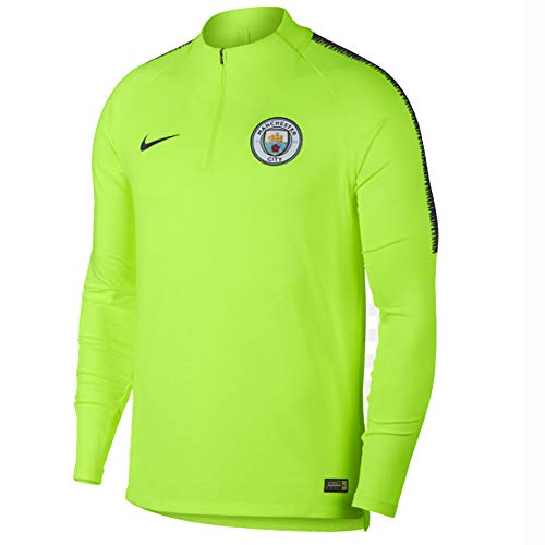 - Nike 2018-2019 Man City Training Drill Top (Volt)