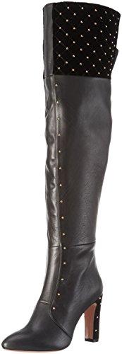 Oxitaly Ladies Rustica 283 Boots Lunghi Nero (nero)
