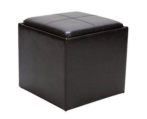 Black Bicast Leather - 1