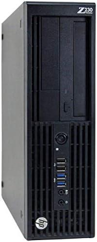 HP Z230 Workstation Gaming Computer Desktop, Intel Core i5-4590, 16GB DDR3 RAM, 240GB SSD & 2TB HDD, USB 3.0, NVIDIA GeForce GT 1030 2GB, HDMI, DVI, WiFi – Windows 10 Professional (Renewed)