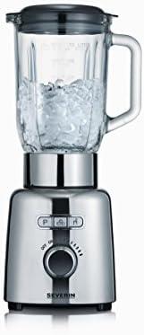SEVERIN SM 3710 Batidora de vaso con recipiente de cristal, 1.000 ...