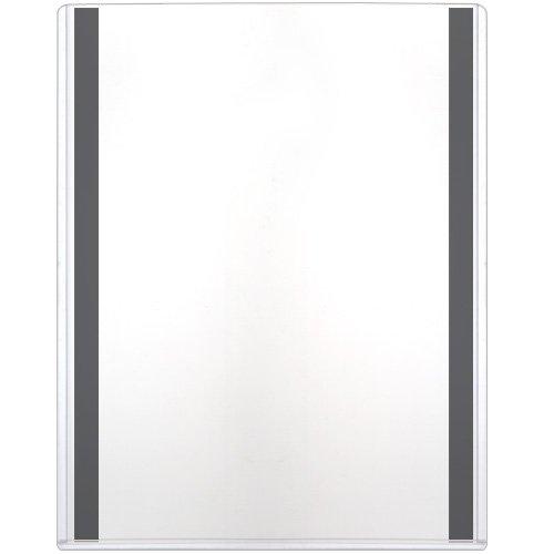 StoreSMART - Magnetic-Back Rigid Holder/Frame - 8 1/2'' x 11'' - 50-Pack - Refrigerator or Locker Magnet - Top Loaders - HPP812X11M-50 by STORE SMART
