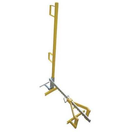 Parapet Clamp Guardrail Systm, 3-1/2Ft. L