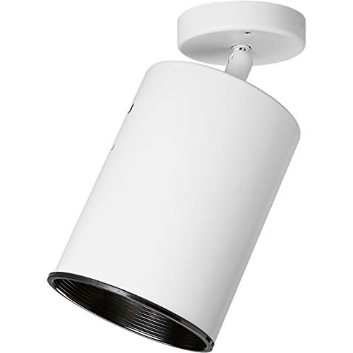 Progress Lighting P6397-30 Transitional One Light Wall/Ceiling Fixture from Directional Collection in White Finish, 5-3/4-Inch Width x 8-1/8-Inch Height from Progress Lighting