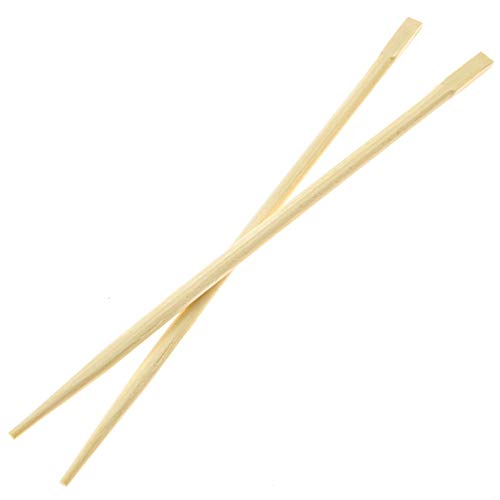 Premium Disposable Bamboo Chopsticks (500 sets), Japanese Disposable Chopsticks Bulk, 9'', Certified Quality by Soeos (Image #3)