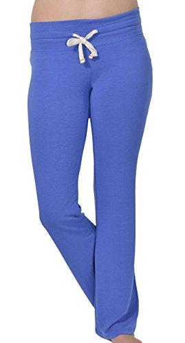 Abbot + Main Ladies' Lounge Pant - Majestic Blue Size M