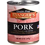 EVANGER'S 776412 12-Pack Grain Free Pork for Dogs and Cats, 13-Ounce, My Pet Supplies