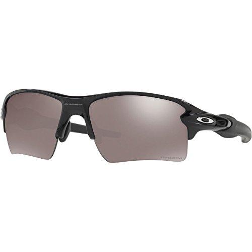 Oakley Men's Flak 2.0 Xl Polarized Iridium Rectangular Sunglasses, Polished Black, 59 - 2.0 Xl Flak Oakley