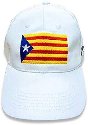 Gorra Bandera Catalana Estelada Unisex: Amazon.es: Deportes y aire ...