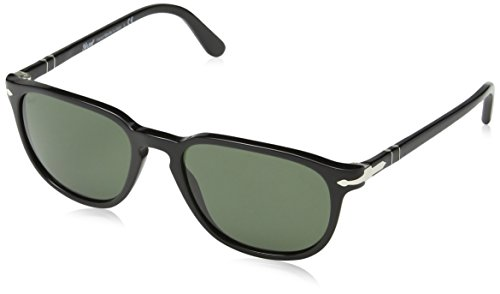 Sunglasses Po crystal Lens 52 Green Black Mm Persol 3019s Frame 6Uqwgz