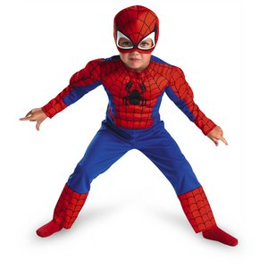 Spiderman Toddler Size: 3T-4T (Red/Blue) - Spider Man Costume Web Shopping Results