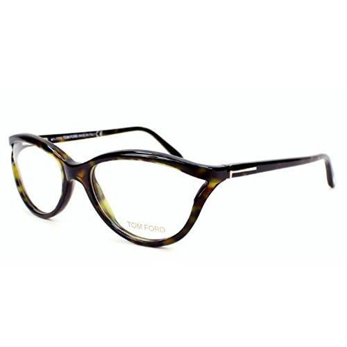 Tom Ford FT5280 056 Cateye Eyeglass Frames, Havana, 53