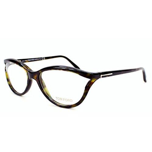 Tom Ford FT5280 056 Cateye Eyeglass Frames, Havana, - Havana Tom Ford Glasses