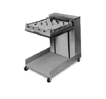 APW Wyott Lowerator Open Mobile Cantilever Glass and Tray Dispenser, 16 x 20 inch Tray Size -- 1 each. ()