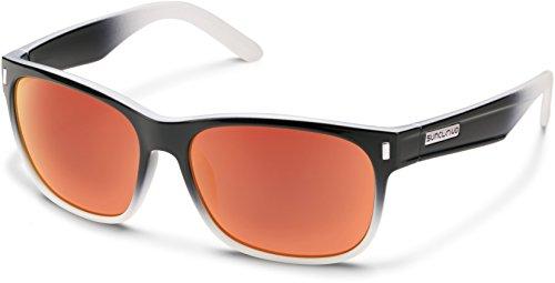 Suncloud Dashboard Polarized Sunglasses, Black Fade - Black Fade Sunglasses