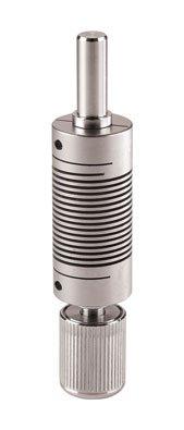 Chemglass CG-2043-01 Series CG-2043 Tru-Stir Stirrer Shaft Coupling for 3-Jaw Jacob Chuck, Tool-Free, 5/16