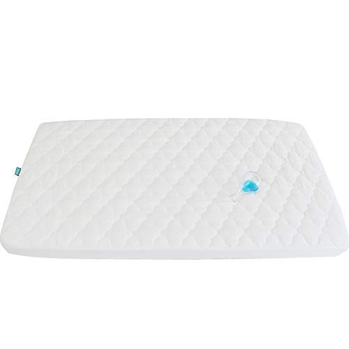 Waterproof Crib Mattress Pad Cover for Pack N Play - 39