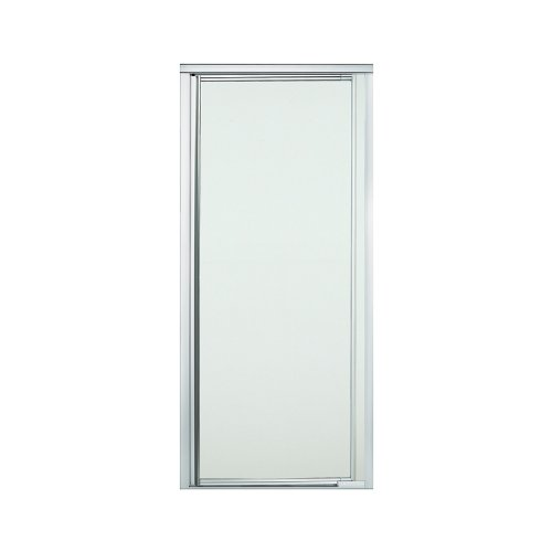 "STERLING 1505D-31S-G03 Vista Pivot II Shower Door Pivot 65-1/2""H x 27-1/2"" - 31-1/4""W Frosted Glass Silver"