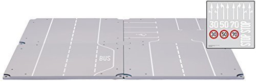 Track with Parking & Straight Sections by siku