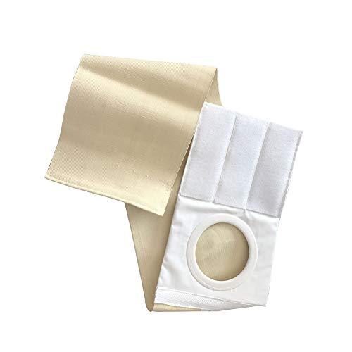Ostomy Hernia Belt, Unisex Hernia Support Belt, Medical Supplies Waist Supports Abdominal Binder Brace Abdomen Band Stoma Support SYD09 (M: 37.4