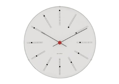 Arne Jacobsen Bankers Clock, - Clock Bankers