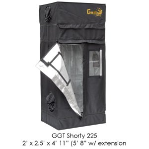 31qImstdG6L Gorilla Grow Tent Shorty 2x2.5