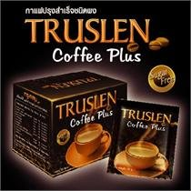 10Sachets Free 2Sachets TRUSLEN INSTANT COFFEE MIX POWDER COFFEE PLUS Sugar Free, Low Fat, NO Cholesteral 160g - Keurig Sugar Free Coffee