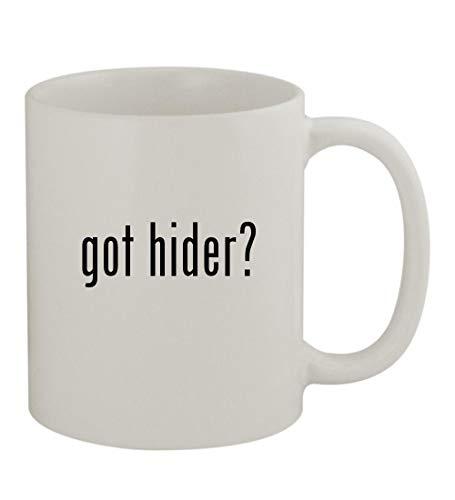 got hider? - 11oz Sturdy Ceramic Coffee Cup Mug, White