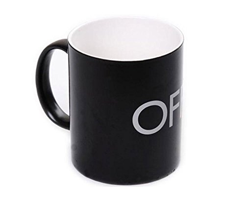 Econoled Magical ON/OFF Switch Color Changing Mug-Black