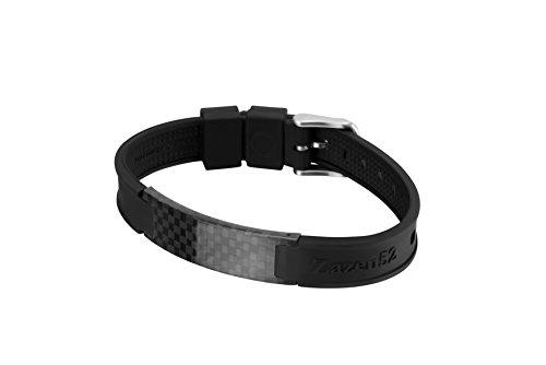Zenturio Original Zazen52 Bracelet bien-être Édition limitée Fullcarbon Aimant exclusif Minus Ionen Noir Dark Sky Standard