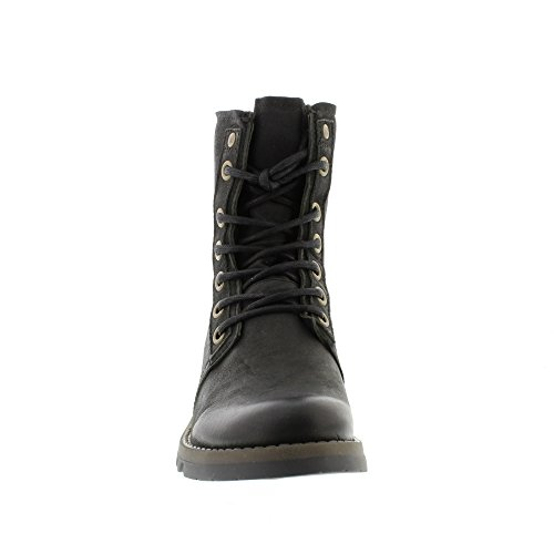 Fly London Womens SUTI070FLY Leather Boots negro