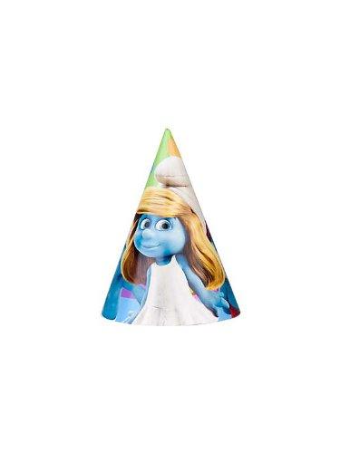 Smurfs Cone Hats (8ct)