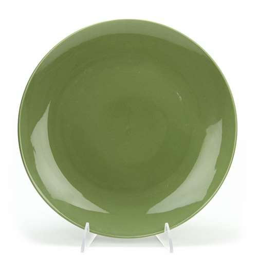 Green Royal Estate (Green Coupe by Royal Norfolk, Stoneware Dinner Plate)