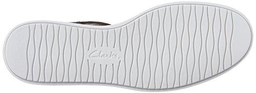 Clarks Femmes Glick Delta Pêcheur Sandale Cuir Noir