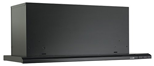 Broan Broan 153623 Slide Out Range Hood, Black, 36-Inch, 300-CFM -