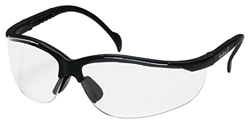 Pyramex SB1810S Venture II - Black Frame with Clear Lens Safety - Spectacle Frame Types