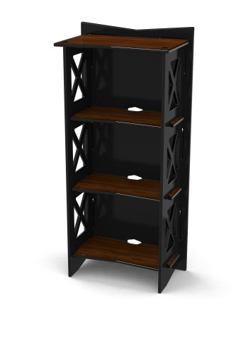 Legare Cottage Bookcase, 48 by 22-Inch, Ebony Walnut