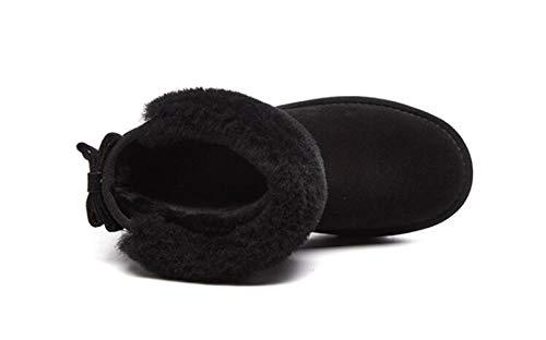 Noir Neige Bottes Etc Femmes Tubes En Sport Femmes Courts Hiver Velours Plates Pour Zhw Extérieur Chaussures De Avec UTwqUA