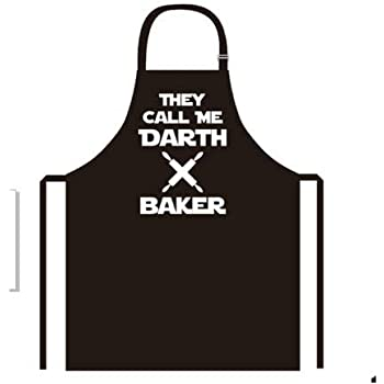 new creative darth baker apron kitchen cooking baking bbq apron for men and womenbring your dinner party to life with our novelty funny cooking apron