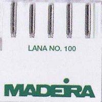 Madeira 9452 Embroidery Wool Machine Needle, Size 16/100