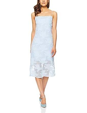THIRD FORM Women's Moon Flower Slip Dress, Sky, X-Small
