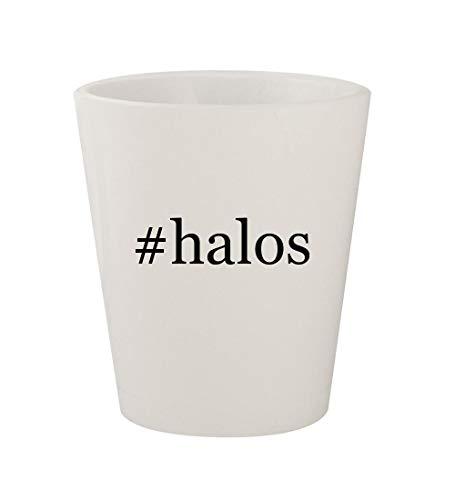 Price comparison product image #halos - Ceramic White Hashtag 1.5oz Shot Glass