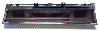 The Parts Place Chevelle Complete SS Gauge Assembly - Show Quality - Floor Shift -