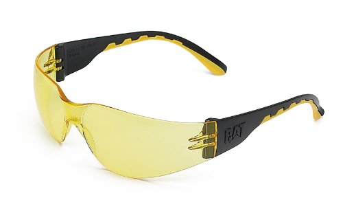 Track Safety Glasses Yellow by Caterpillar