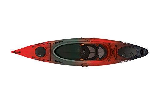 Third Coast Arbor 120 Sit in Recreational Kayak (Red Hot/Black/Gray)
