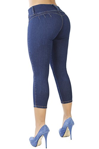 Seven 7 Jeans Crop Jean - Curvify 764 Women's Butt-Lifting Skinny Jeans | High-Rise Waist, Brazilian Style (7 fits a 29