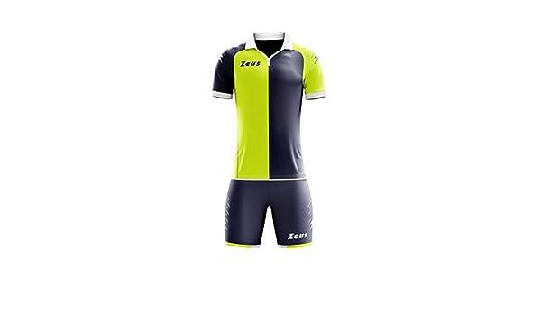 Zeus - Kit de futbolín, Camiseta y pantalón de Deporte, Talla L ...